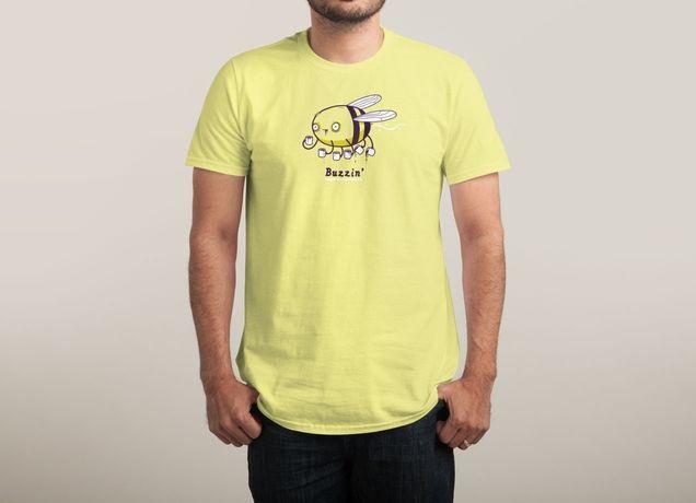 """Buzzin'"" by randyotter3000 on mens t-shirts | Threadless"