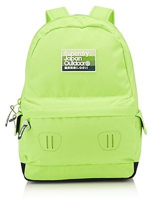 Womens lime superdry rainbow montana rucksack from Lipsy - £34.99 at ClothingByColour.com