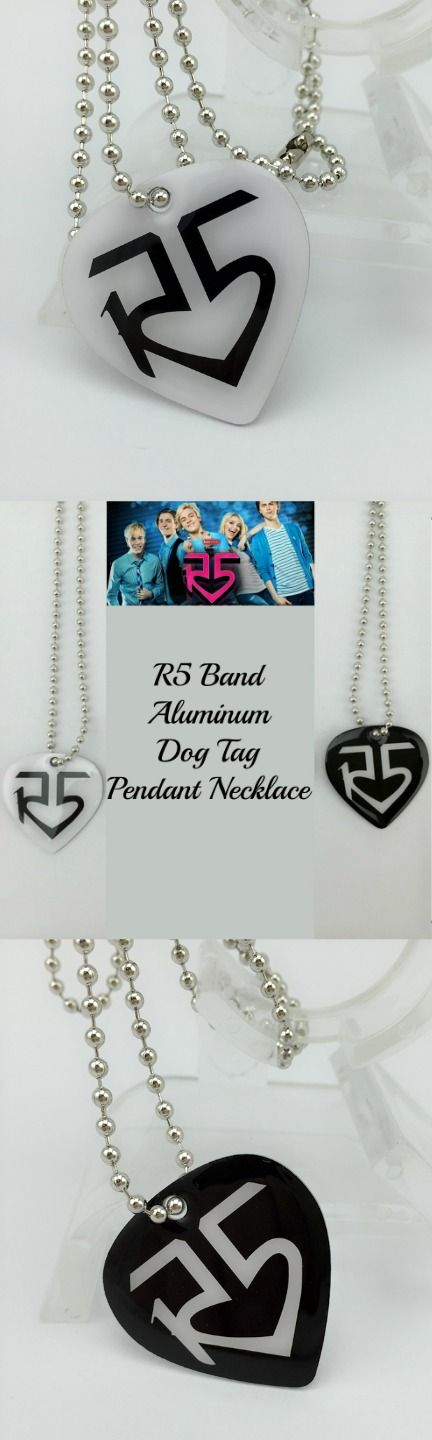 R5 Band Aluminum Dog Tag Pendant Necklace ! Click The Image To Buy It Now or Tag Someone You Want To Buy This For.  #R5