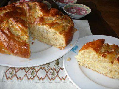 Nane Limon: Elmalı Paskalya Çöreği