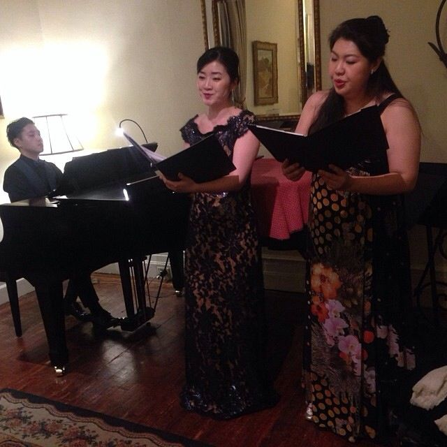 Pre-concert at NY on March 14th promoting Japanese song concert in UN and Hunter College.