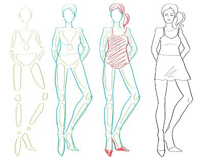 How To Draw Fashion: How to Draw the Body / Fashion Figure Drawing