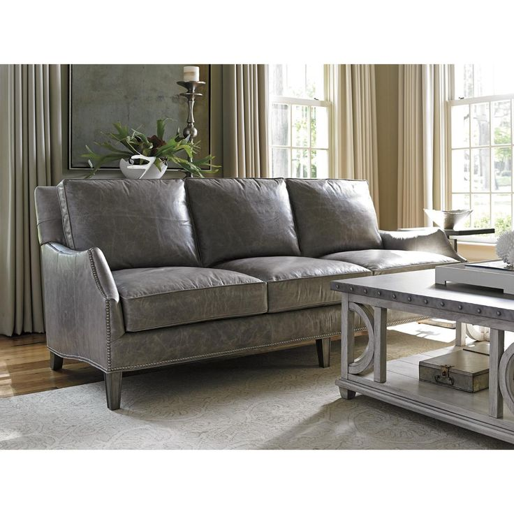 Best 20 Grey Leather Sofa Ideas On Pinterest
