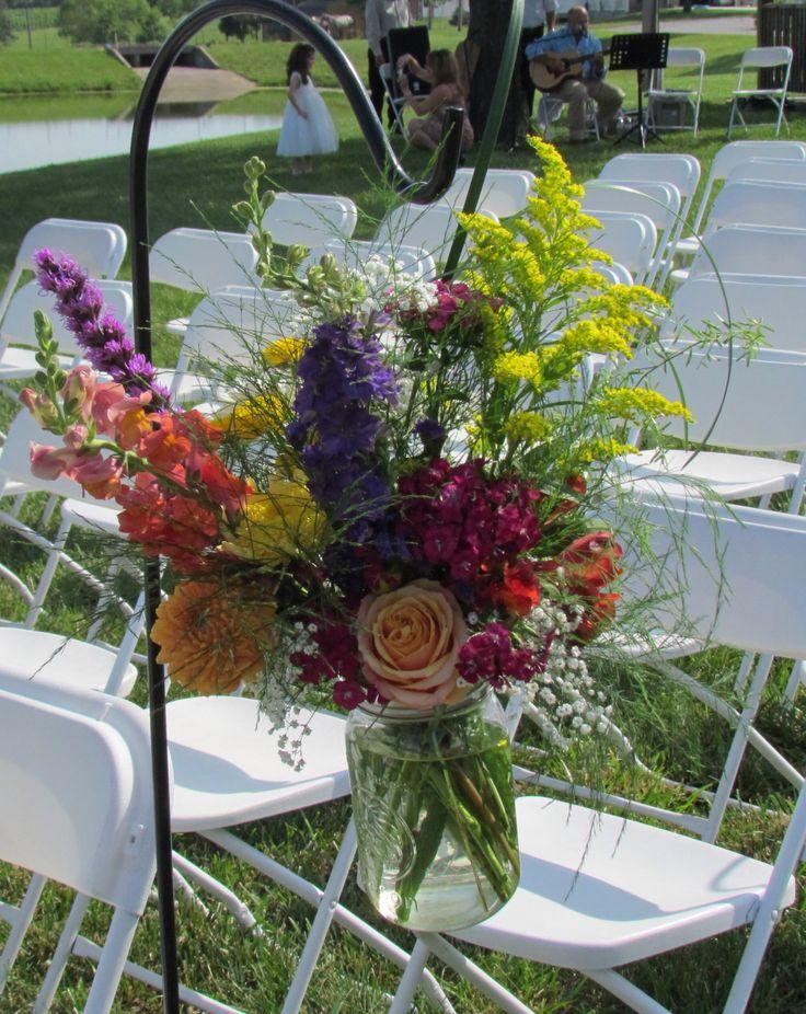 Mason Jar Wedding Flowers Cindy 39 S DYI Pinterest