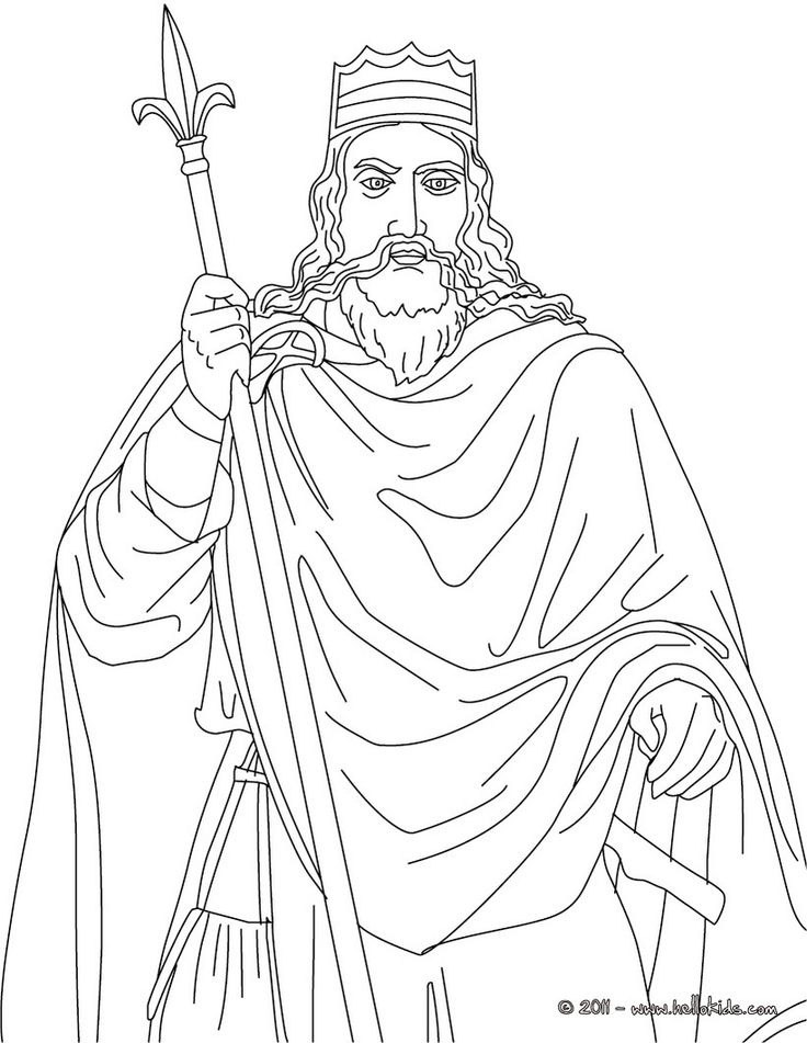 king clovis coloring page y2w1 lg