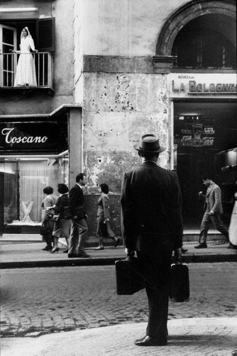 """mpdrolet:   Naples, 1958  Photography by Leonard Freed. American, Magnum photographer"