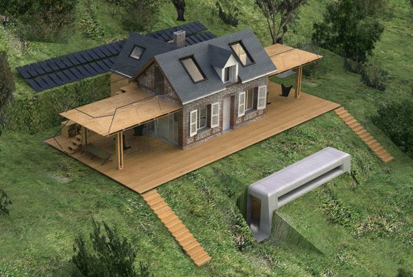 "Eco House Design is Heavenly, Complete with ""Wings"" 