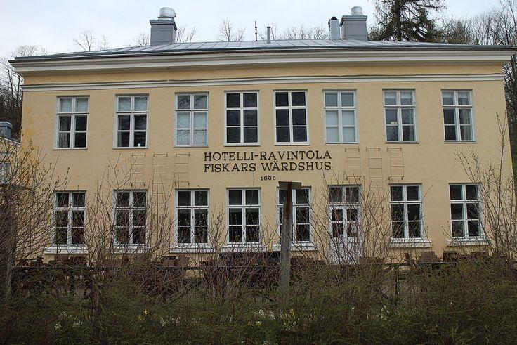 Fiskars Wärdshus   by visitsouthcoastfinland #visitsouthcoastfinland #Finland #Fiskars #hotel #restaurant #hotelli #ravintola