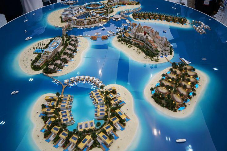 The Heart of Europe, Dubai, developers 3D model