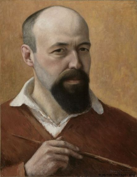 Hugo Simberg, Self-Portrait, 1914
