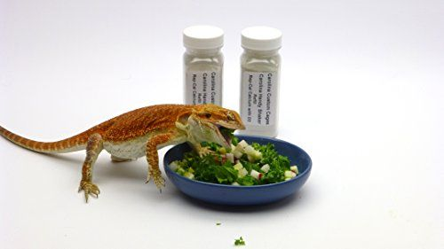 We use our Carolina Handy Shakers to dispense these necessary supplements on our bearded dragons' daily salads after misting with water. This way the Rep-Cal Calcium with D3 or Herptivite Multivitamin...