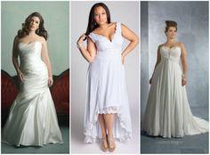 Свадебное платье для беременных и полных невест