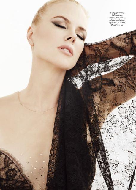 Nicole Kidman, photographed by James White for Harper's Bazaar Australia | December 2013
