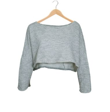 ZARA MOLETOM CROPPED |