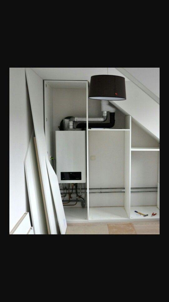 Meer dan 1000 idee n over zolder ombouwen op pinterest zolderkamers slaapkamers op zolder en - Trap toegang tot zolder ...