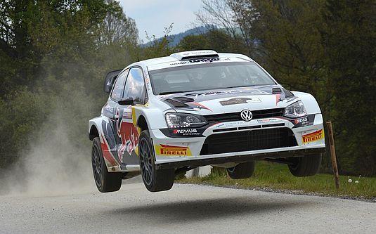 BRR Raimund Baumschlager VW POLO R WRC Rallye in Austria