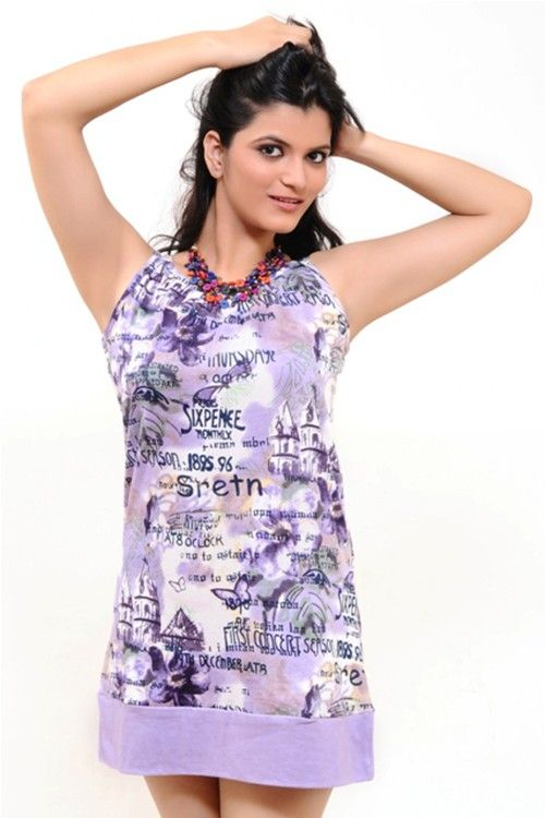 A Lovely Purple Shaded Girlish Top