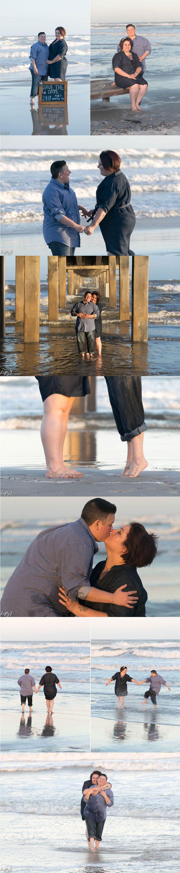 Laurie & Jenna engagement - Corpus Christi, TX #engagementphotos #savethedate #beachphotos #love #corpuschristiphotography #corpuschristiphotographer