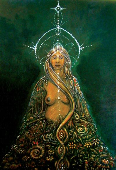 Pachamama, a fertility goddess who presides over the harvest, is revered by many indigenous people in the Andes.