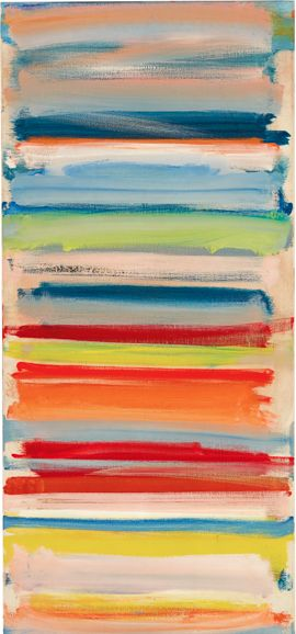 Painting by Patrick Heron (1920-1999), 1958, Atmospheric strata: February, oil on canvas.