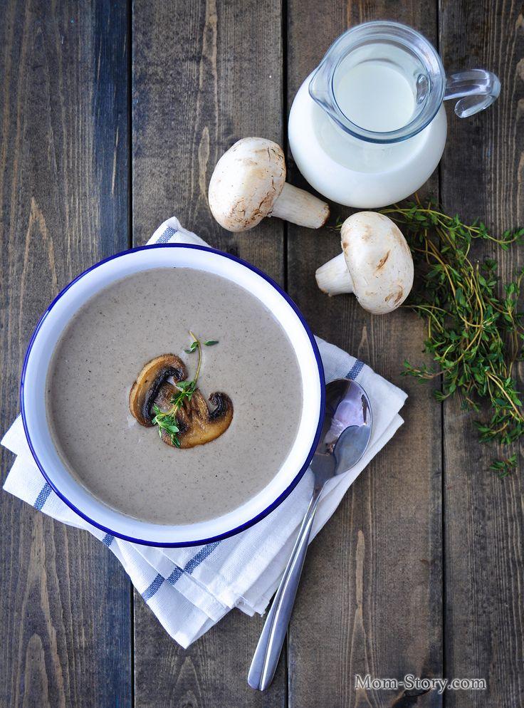 французский грибной крем суп