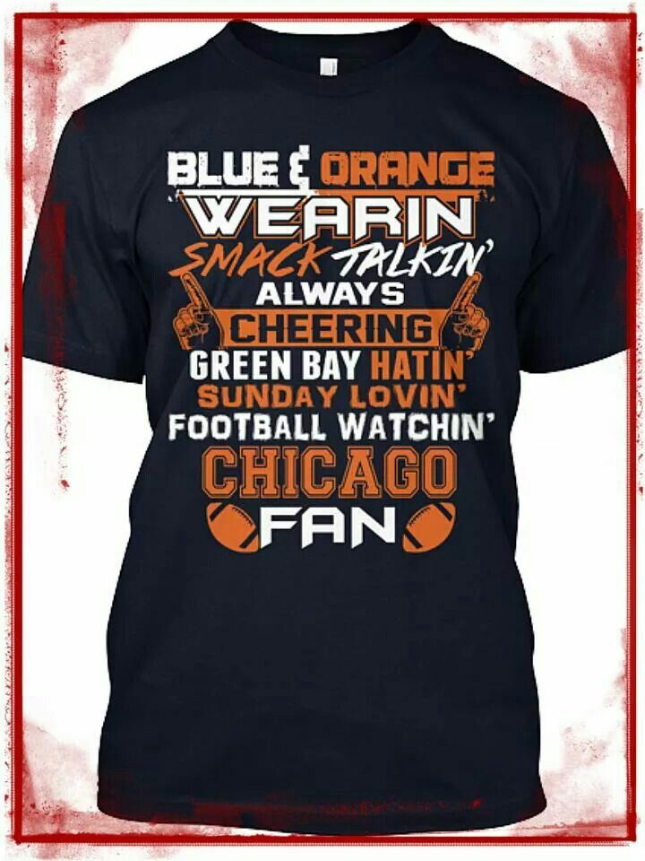 Chicago Bears fan tee
