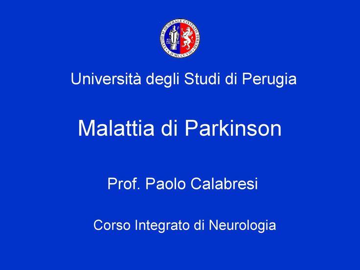 Malattia di Parkinson - Pagina 1