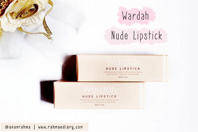 Wardah Nude Lipstick 03 Pure Hazelnut 04 Peach Caramel #nudelipstick #pastel #lipstickjunkie
