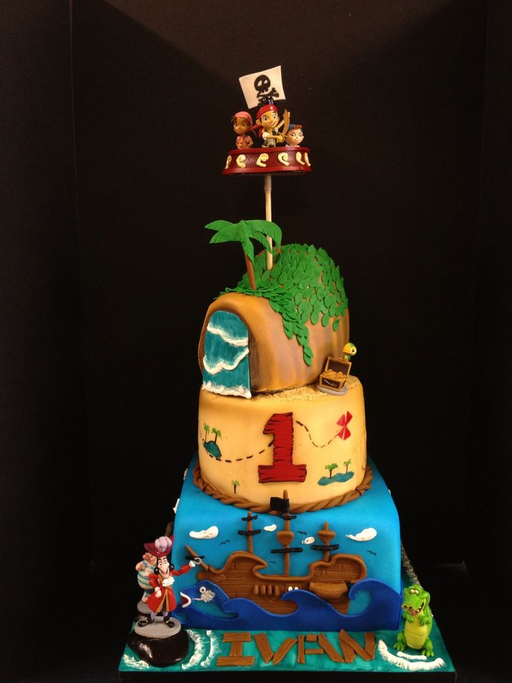 jake and the neverland pirates cake 17 best images about jake and the neverland pirate cakes 5217
