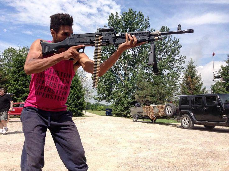 Big gun it like a little gun.  Go out and have a little fun.