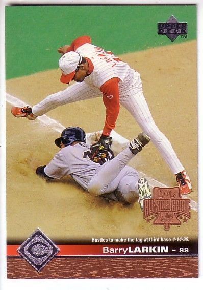 1997 Upper Deck CINCINNATI REDS Team Set (14) BARRY LARKIN / ERIC DAVIS…