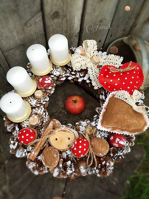 jarcik / Milujem Vianoce také perníčkové, škoricové a aj červené