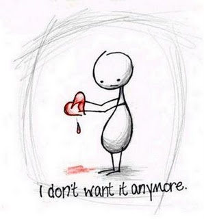 heartbreak.. I so don't want it