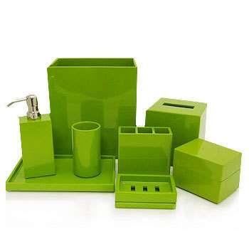 Lime green bathroom stuff dream home pinterest lime for Bathroom decor lime green