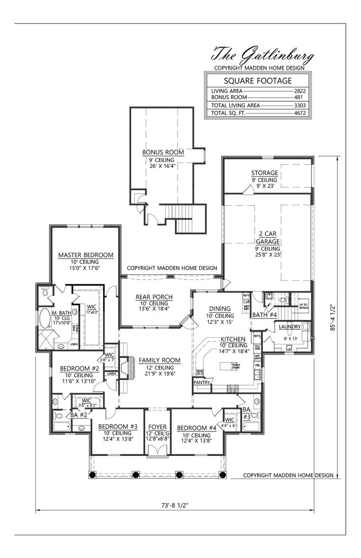 109 best floor plans images on pinterest house floor plans madden home design the gatlinburg 2 front rooms