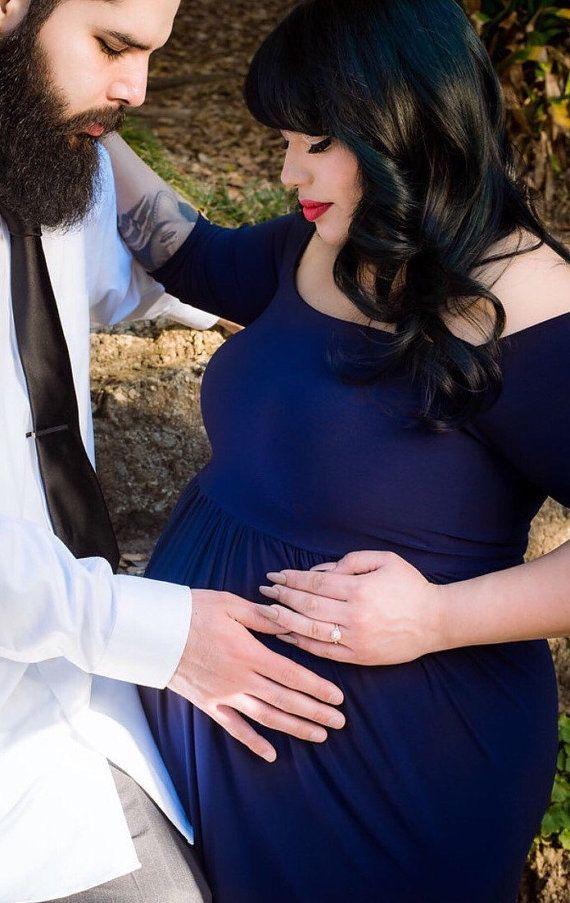 Grande taille robe/plus taille de maternité par KorinnArtdesign