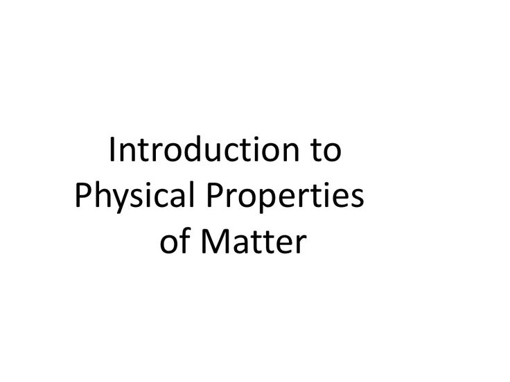 138 best Properties of Matter images on Pinterest