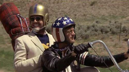"""Oh, I've got a helmet..."" Jack Nicholson, Easy Rider ..."