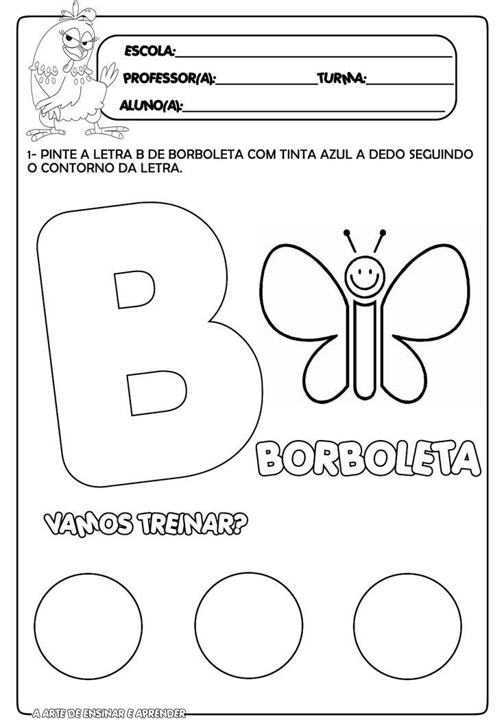 Trabalhando a letra B
