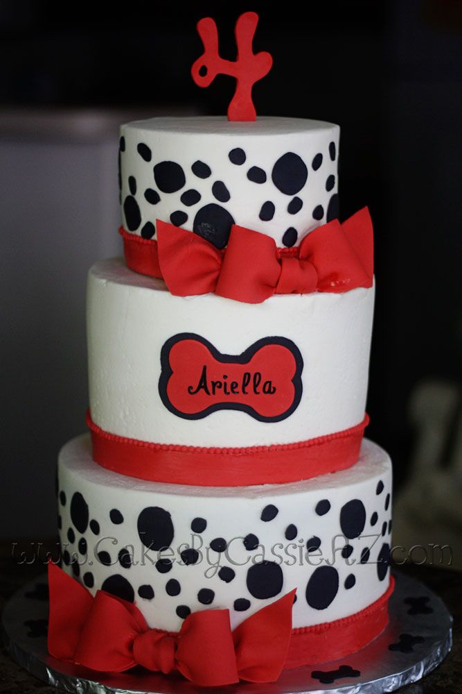 101 dalmation cakes - One layer for  Katharine's 18th B'Day cake...her life through Disney!