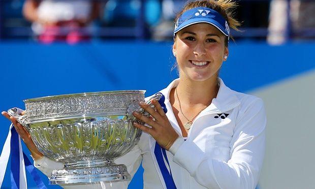 Bencic downs Radwanska to bag maiden crown