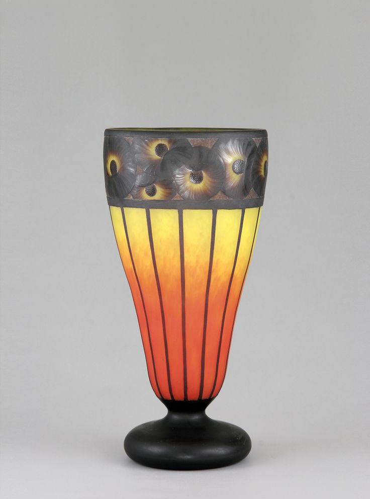 les 401 meilleures images du tableau art verre francais sur pinterest les verres vase en. Black Bedroom Furniture Sets. Home Design Ideas