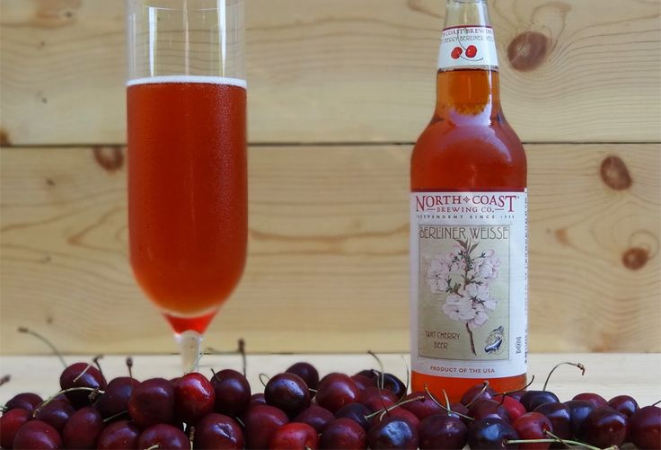 Our review of North Coast Tart Cherry Berliner Weisse. A Berlin style Weiss beer brewed with the juice of Michigan Montmorency cherries.