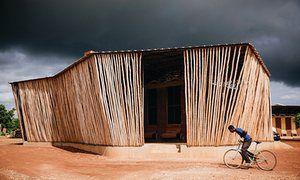 Francis Kéré's Lycée Schorge secondary school in Koudougou.