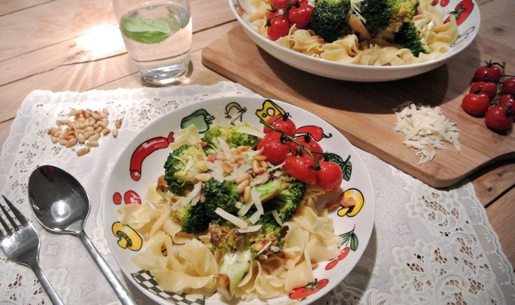 pasta broccoli roomsaus