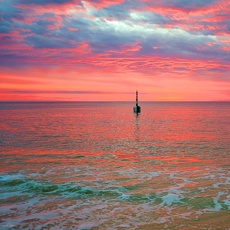 #Cottesloe Beach - The Best Sunset in the World - #Perth, Western Australia