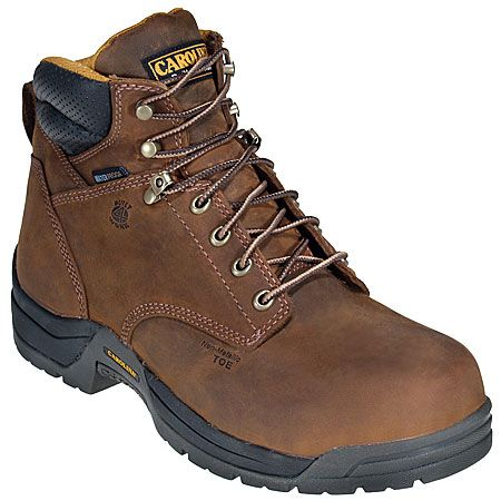 Carolina Boots Women's Waterproof CA1620 Composite Toe Boots
