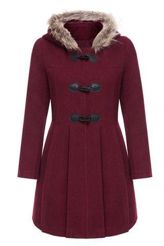 #red #coat #jacket
