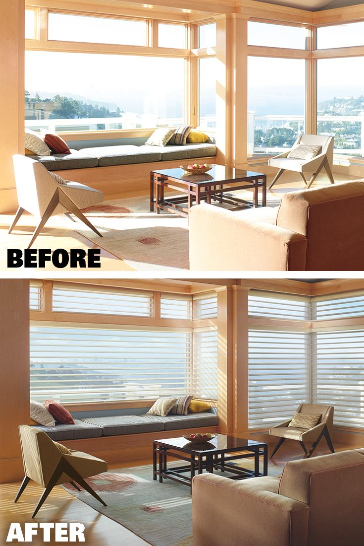 Transform harsh glare and save during the Hunter Douglas Celebration of Light Savings Event. Now until 6/26/17.