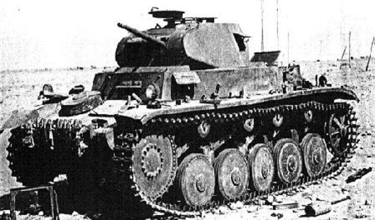 Picture of the SdKfz 121 Panzerkampfwagen II (PzKpfW II) / Panzer 2